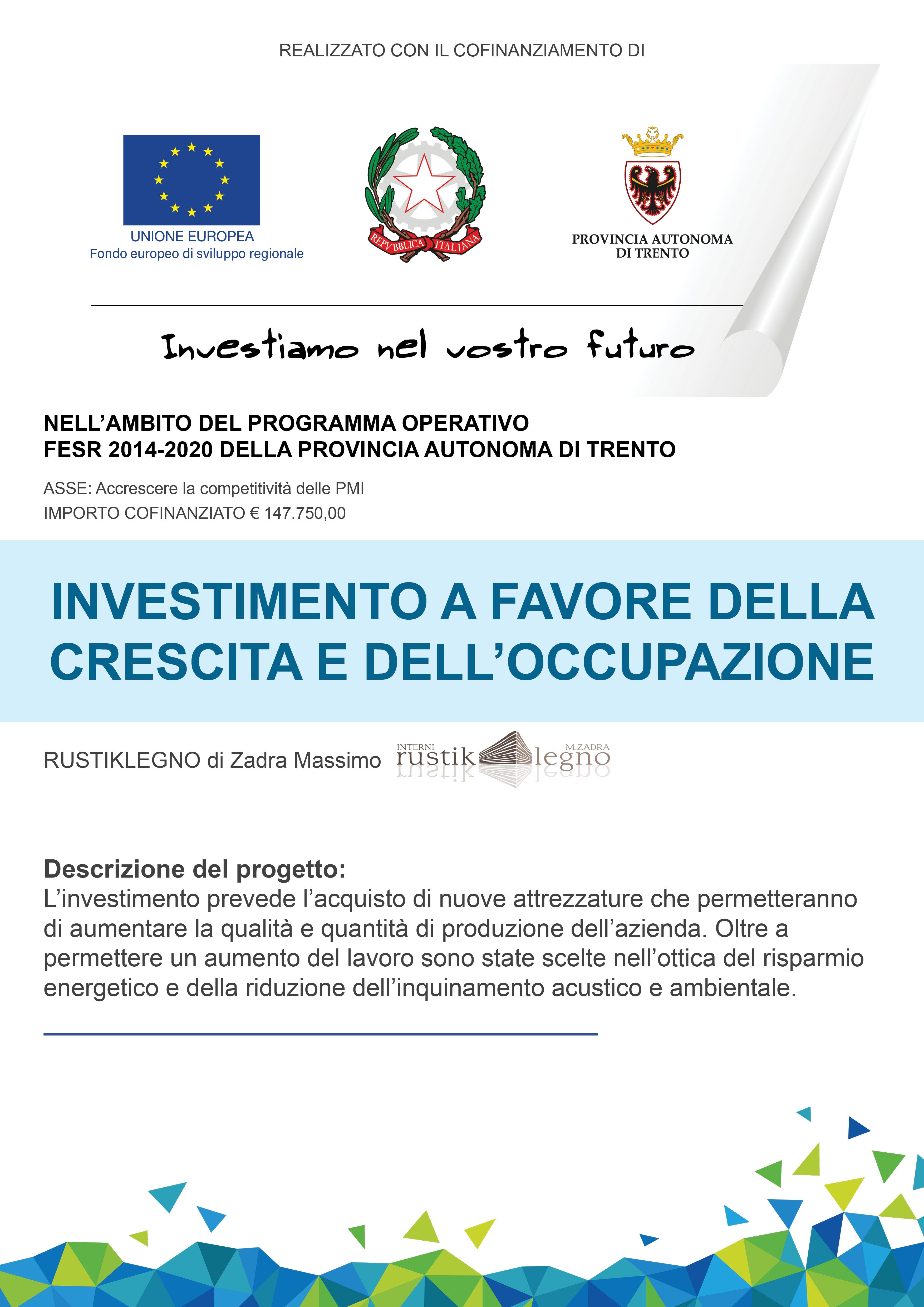 Programma Operativo FESR 2014-2020