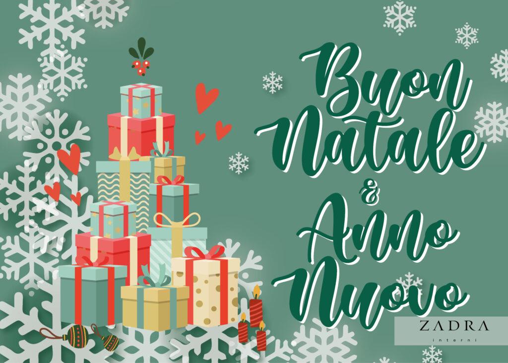 ZADRAinterni e Rustiklegno - Auguri di Natale e Capodanno